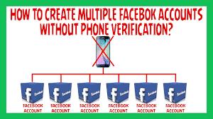 create multiple facebook accounts