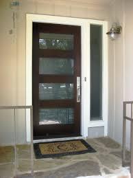 Mid Century Modern Door Kits Double Front Doors Interior Glass ...