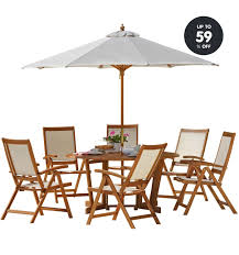 uk get garden furniture up to 59 off at argos 6 chair patio set