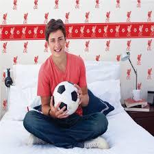 Liverpool Fc Bedroom Accessories Liverpool Lfc Childrens Kids Football Wallpaper Wp40025