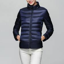 duck down ultralight winter jacket women lady long