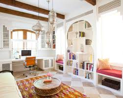 moroccan themed furniture. mediterranean builtin desk home office idea in houston moroccan themed furniture r