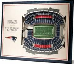 Lsu Stadium Seating Chart 3d Details About New England Patriots 5 Layer Stadium Views 3d Wall Art Of Gillette Stadium