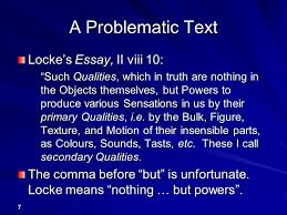 hume general philosophy dr peter millican hertford college ppt a problematic text locke s essay ii viii 10