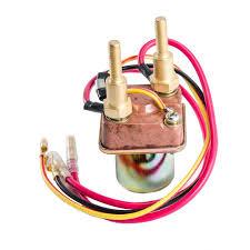 amazon com starter solenoid relay for kawasaki js440 js550 1982 1988 Js550 Starter Relay Wiring Diagram amazon com starter solenoid relay for kawasaki js440 js550 1982 1991 js300 1986 1991 jf650 1987 1990 4 wire long bolts automotive Chrysler Starter Relay Wiring Diagram