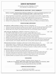 Office Assistant Resume Elegant Administrative Assistant Resume