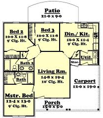 floor plan first story of small house plans 142 1004