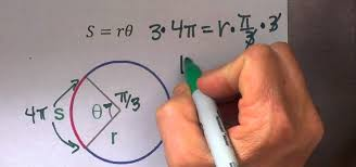 find the radius of a circle from arc length