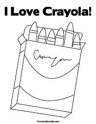 crayon coloring page crayola crayon names coloring page stylish ideas coloring pages of for crayola crayon tower crayon box colouring page