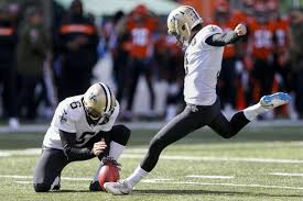 Wil Lutz kicking (via nola.com)