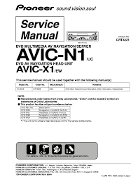 pioneer avic n wiring diagram wiring diagram pioneer avic n2 wiring diagram auto schematic