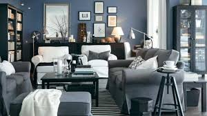 Ikea Living Room Decorating Grey Fabric 2 Seat Sofa White Shade Floor Lamps Ikea Living Rooms