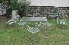 white iron garden furniture. Nice Antique Patio Furniture Exterior Remodel Photos Vintage Outdoor Metal Tables White Iron Garden