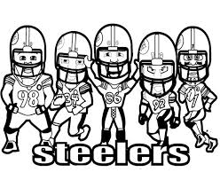 Small Picture Nfl coloring pages steelers players ColoringStar