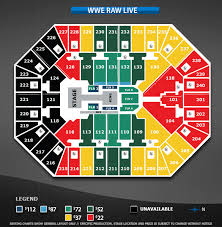 Target Center Seating Chart For Wwe Symbolic Wwe Chart Air Canada Seating View Wwe Smackdown