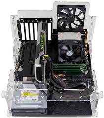 DIYPC Alpha  GT3 Motherboard Test BenchTest Bench Computer