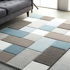 blue brown area rug kids rugs contemporary for low pile large cream blue brown area rug