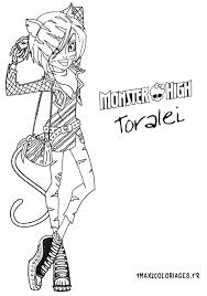 Nouvelle Poupee Monster High Toralei Charlotte Pinterest