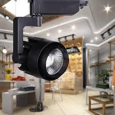 kitchen spotlight lighting. LED Track Light COB 15W 30W Ceiling Rail Lights Spotlight For Kitchen Fixed Clothing Shoes Shops Lighting E