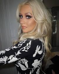 christina aguilera the voice pressday jan 2016 smash it makeup eye