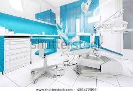 dental office interior. Dental Clinic Interior With Modern Blue Dentistry Equipment Office