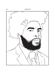 1683277 inline slide 16 bun b rappers coloring book crafts with kanye a new book lets you color in your favorite rappers on unqualified opinion letter template