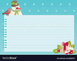 Blank Christmas Background Christmas Background With Empty Blank For Text Vector Image