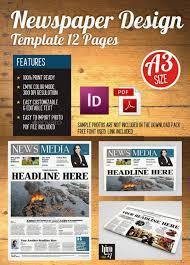 Newspaper Template Indesign 15 Best Indesign Newspaper Templates 2016 Designssave Com