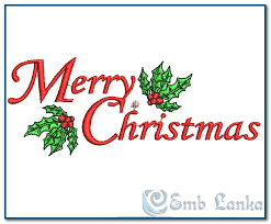 Pictures Of Merry Christmas Design Merry Christmas Embroidery Design Emblanka Com