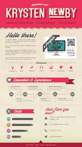 30 Awesome Cv Resume Template Designs Creativecrunk