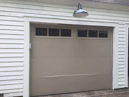 this quart ended up covering both garage doors with some leftover oh and you