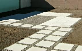 installing concrete pavers