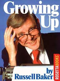 com growing up ebook russell baker kindle store growing up by baker russell
