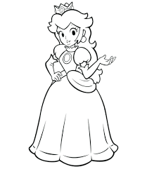 best of princess peach coloring pages free 17 i coloring princess peach coloring drawn