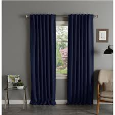 Aurora Home Thermal Rod Pocket 96-inch Blackout Curtain Panel Pair - 52 x  96 - Free Shipping Today - Overstock.com - 11879750