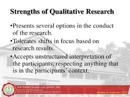 5 Strengths And Weaknesses 3 2 Strengths And Weaknesses Of Qualitative Research