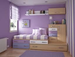 Purple Bedroom Paint Comely Small Purple Girl Bedroom Design Using Light Purple Girl