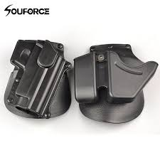 Handcuff And Magazine Holder CU100 Black Handcuff Holster Pistol Holster Double Stack Magazine 73