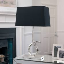 cool design modern table lamps for living room interesting decoration fashionable lamp shades silver