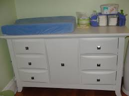 traditional changing table organizer