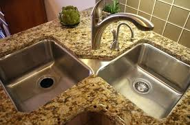best kitchen faucets for granite countertops kitchen rectangular corner kitchen sink with chrome install kitchen faucet