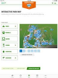 busch gardens discovery guide on the app