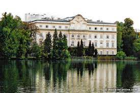 The performance for the song maria was staged in the courtyard of the abbey. The Sound Of Music Film Locations
