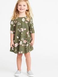 Printed Swing <b>Dress</b> for <b>Toddler Girls</b> in <b>2019</b> | <b>Toddler dress</b> ...