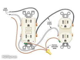 wiring outlets in series diagram Wiring Gfci Outlets In Series how to install electrical outlets in the kitchen the family handyman how to connect gfci outlets in series