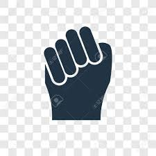 Fist Transparent Background Fist Vector Icon Isolated On Transparent Background Fist Transparency