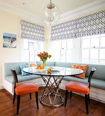 and yes you can use a rectangle rug under a round table the size scale and proportion of the space will determine the size and shape of the rug