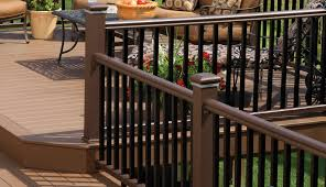 timbertech radiancerail express railing collection in kona