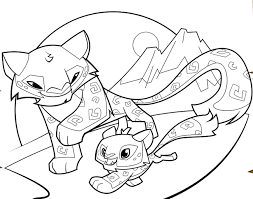 Small Picture coloring pages of animal jam arctic wolf coloring Pages