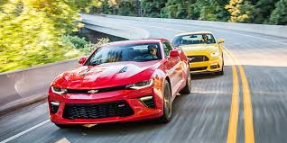 2016 Chevrolet Camaro SS vs 2016 Ford Mustang GT: Old War, New ...